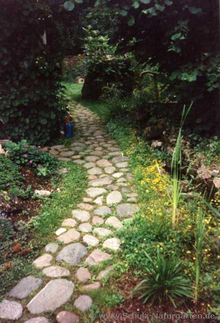 Gartengestaltung mit feldsteinen - Schwimmpool fur garten ...